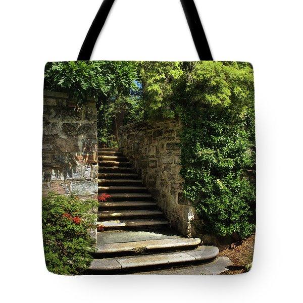 Summer Steps Tote Bag by Mark Miller
