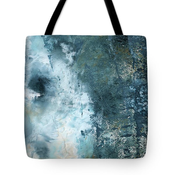 Summer Storm- Abstract Art By Linda Woods Tote Bag