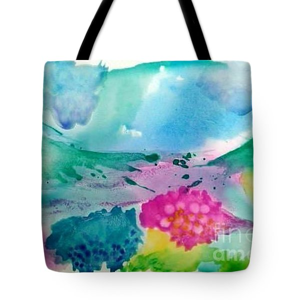 Summer Storm Tote Bag by Lynda Cookson