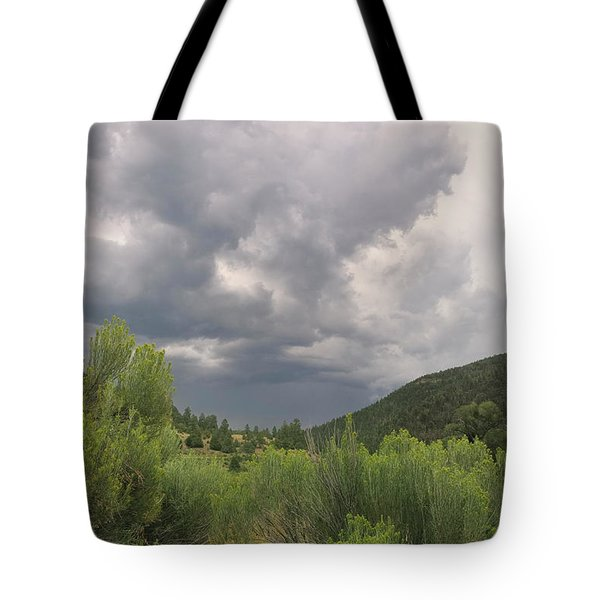 Tote Bag featuring the photograph Summer Storm by Ron Cline