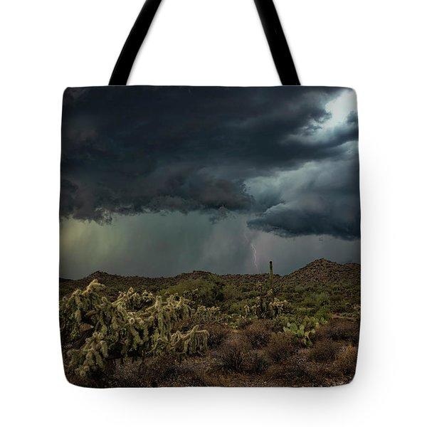 Tote Bag featuring the photograph Summer Storm  by Saija Lehtonen