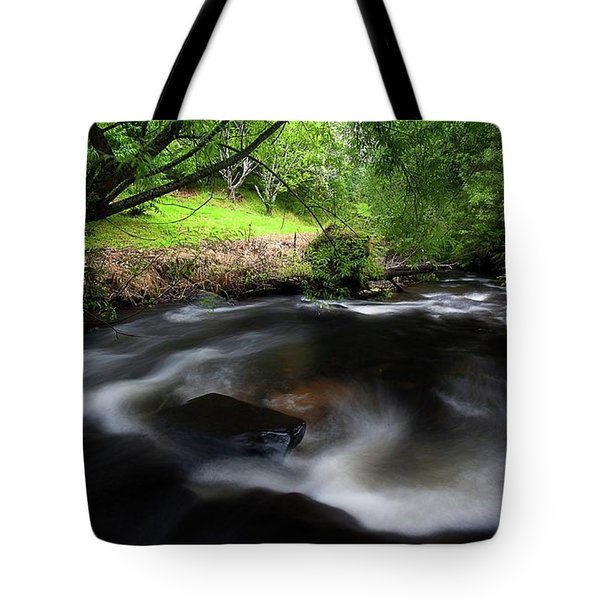 Tote Bag featuring the photograph Summer Stream by Tim Nichols