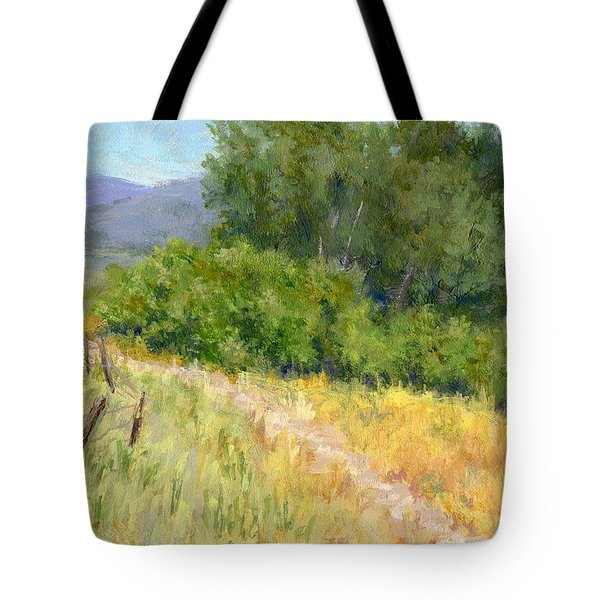 Summer Stroll Tote Bag