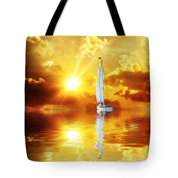 Summer Sun And Fun Tote Bag by Gabriella Weninger - David