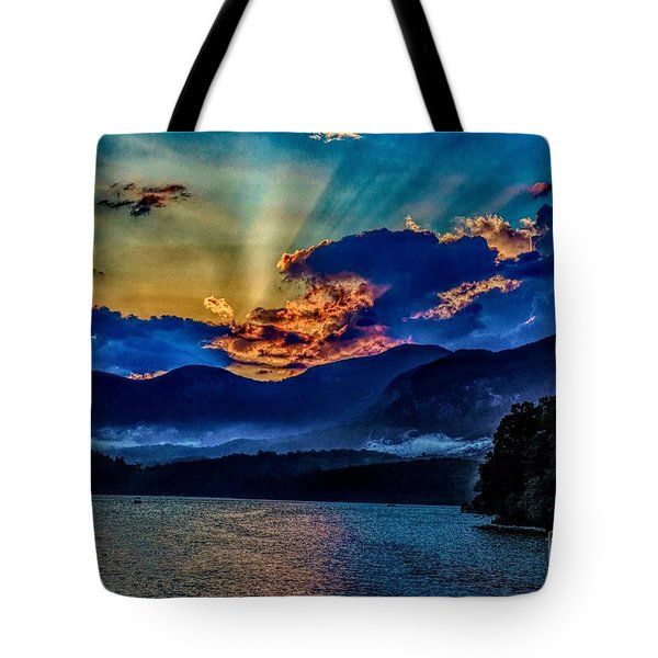Summer Sundown Tote Bag