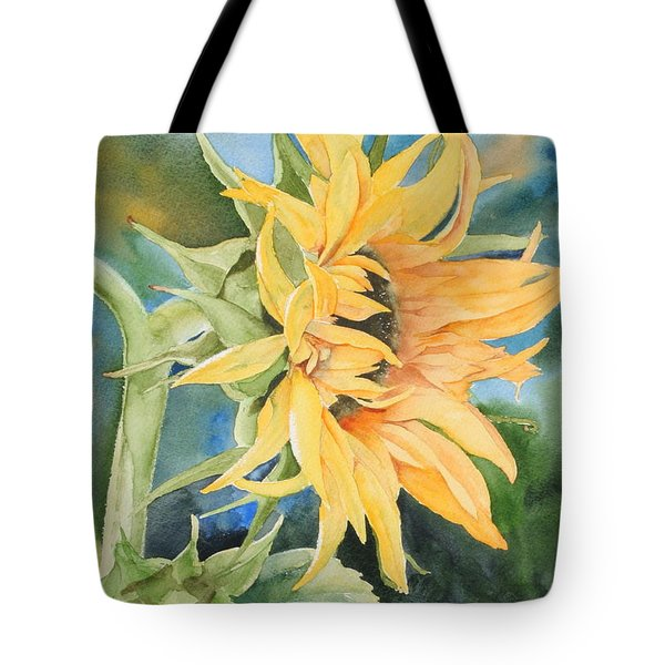 Summer Sunflower Tote Bag