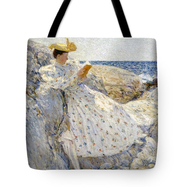 Summer Sunlight Tote Bag by Childe Hassam