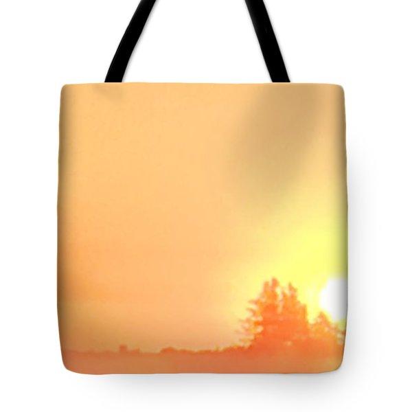 Summer Sunrise  Tote Bag