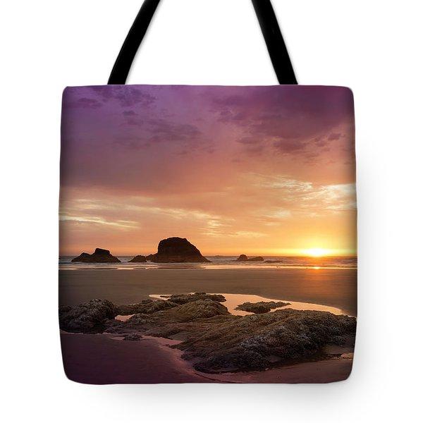 Summer Sunset Tote Bag