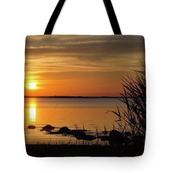 Summer Sunset Tote Bag by Kennerth and Birgitta Kullman