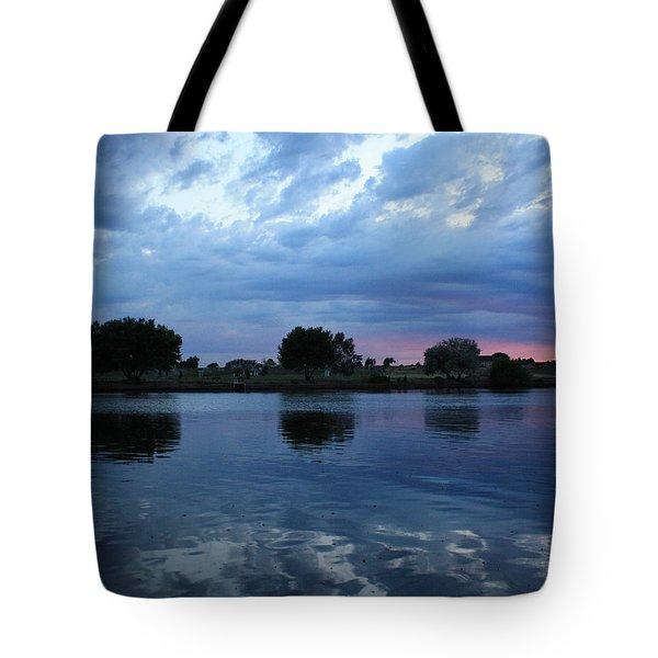 Summer Sunset On Yakima River 5 Tote Bag by Carol Groenen