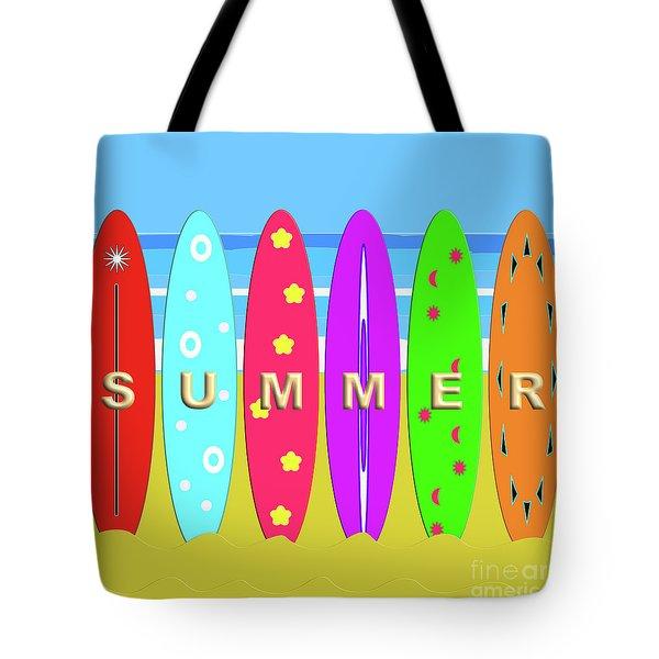 Summer Surf Tote Bag