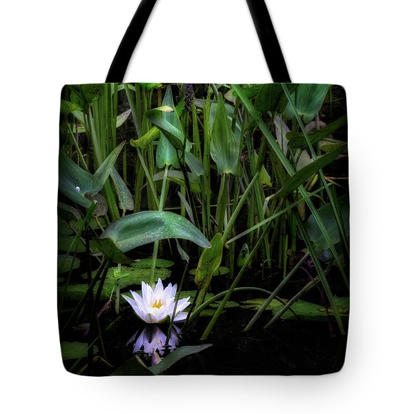 Tote Bag featuring the photograph Summer Swamp 2017 by Bill Wakeley