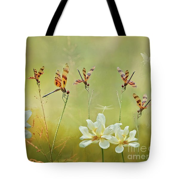 Tote Bag featuring the photograph Summer Symphony by Bonnie Barry