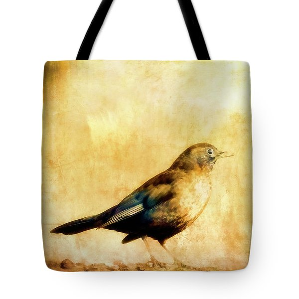 Summer Thrush Tote Bag