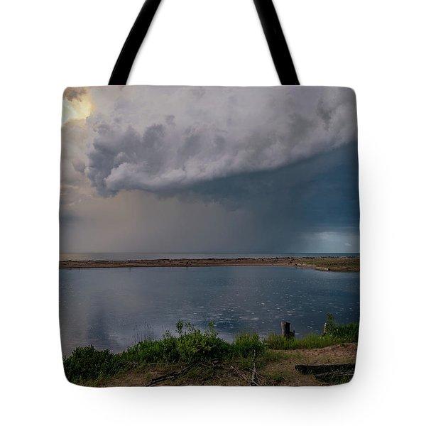 Summer Thunderstorm Tote Bag