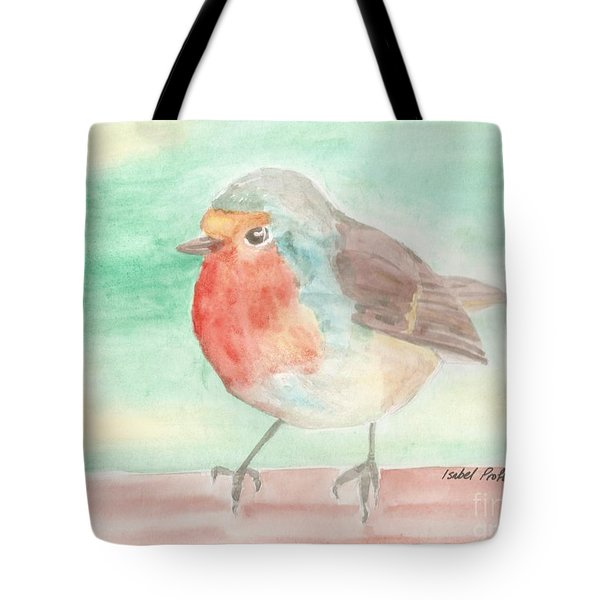 Summer Time Robin Tote Bag by Isabel Proffit
