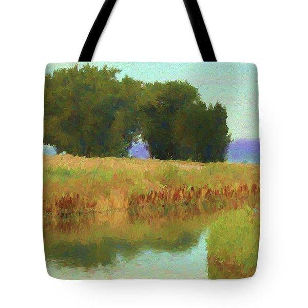 Summer Trees Tote Bag
