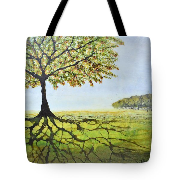 Summer Trees Tote Bag