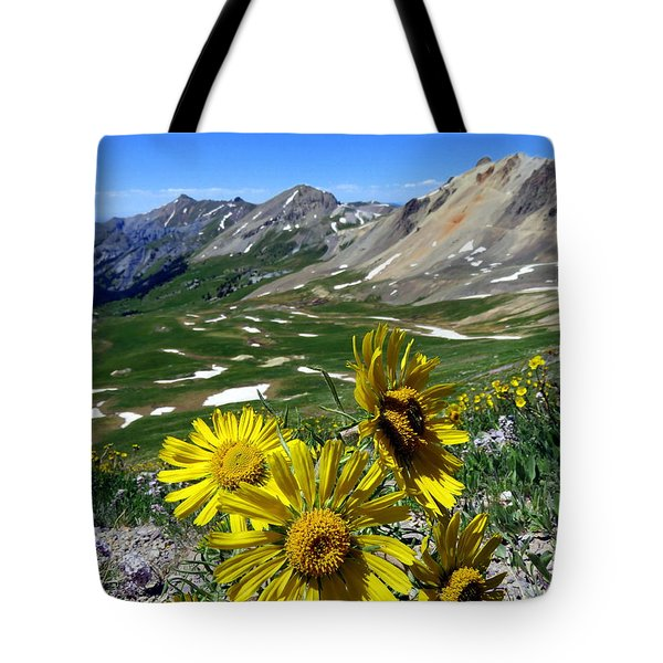 Tote Bag featuring the photograph Summer Tundra by Karen Shackles