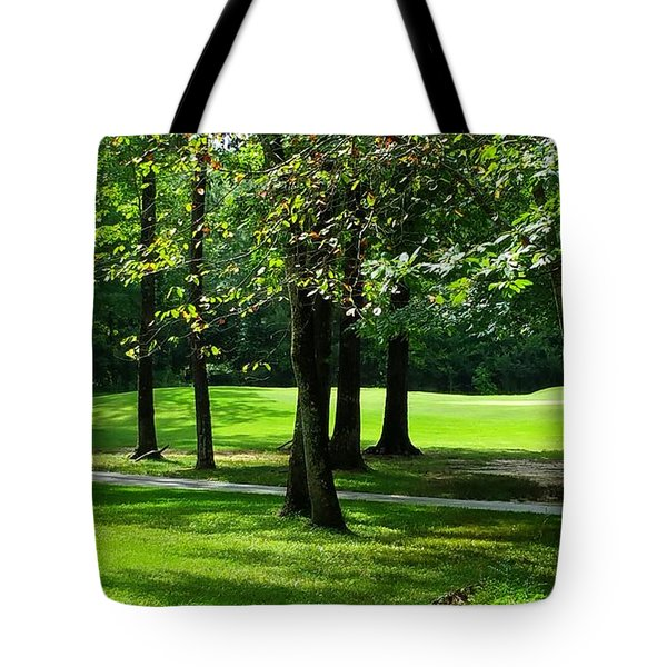 Tote Bag featuring the photograph Summer Walk by Geraldine DeBoer