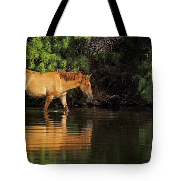 Summer Reflected Tote Bag