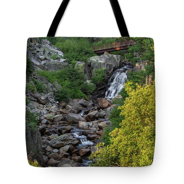 Summer Waterfall Tote Bag