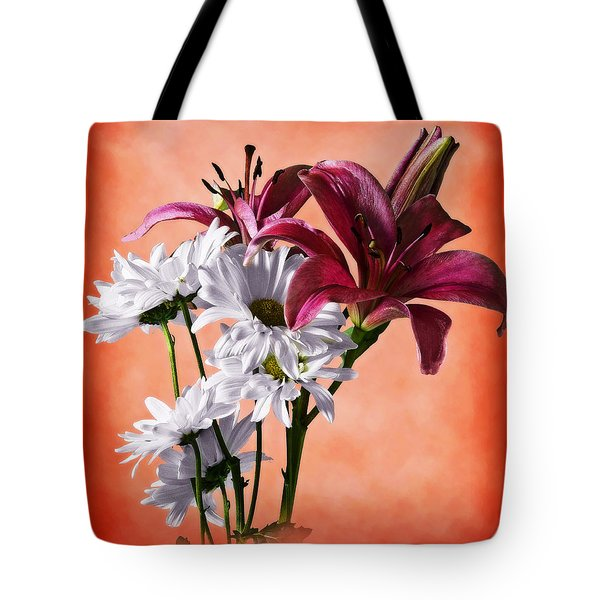 Summer Wild Flowers  Tote Bag