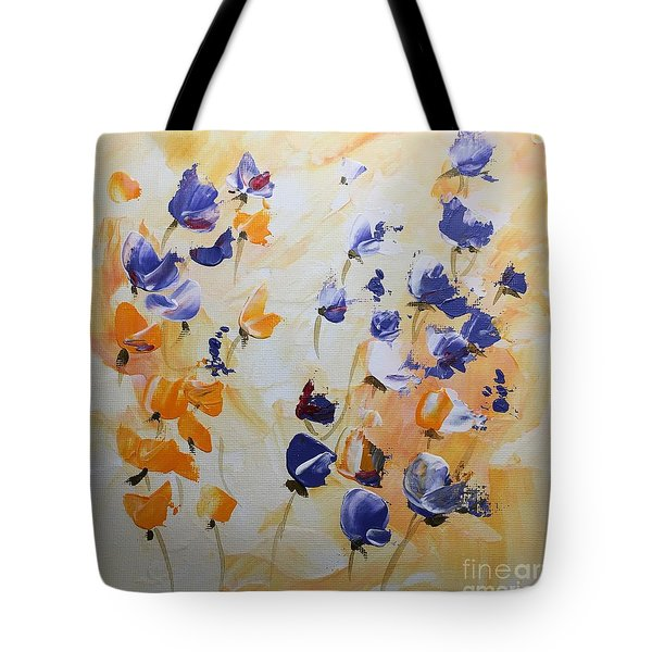 Summer Wildflowers #2 Tote Bag