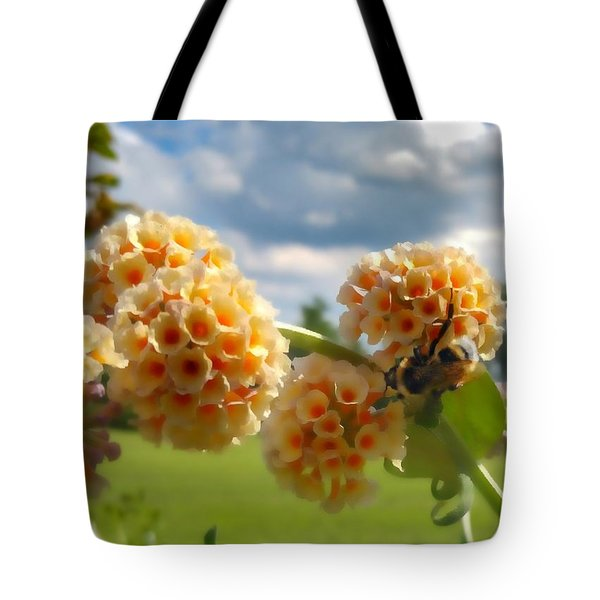 Tote Bag featuring the photograph Summer Work by Isabella F Abbie Shores FRSA