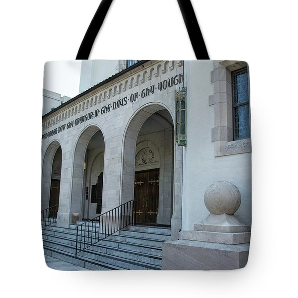 Summerall Chapel II Tote Bag