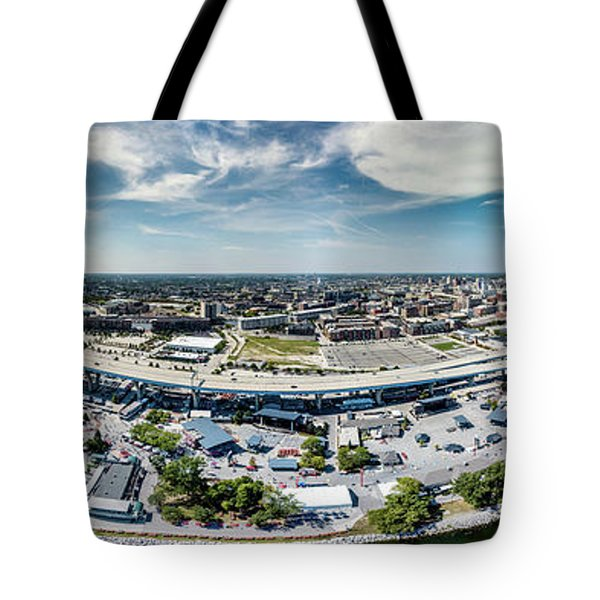 Summerfest Panorama Tote Bag