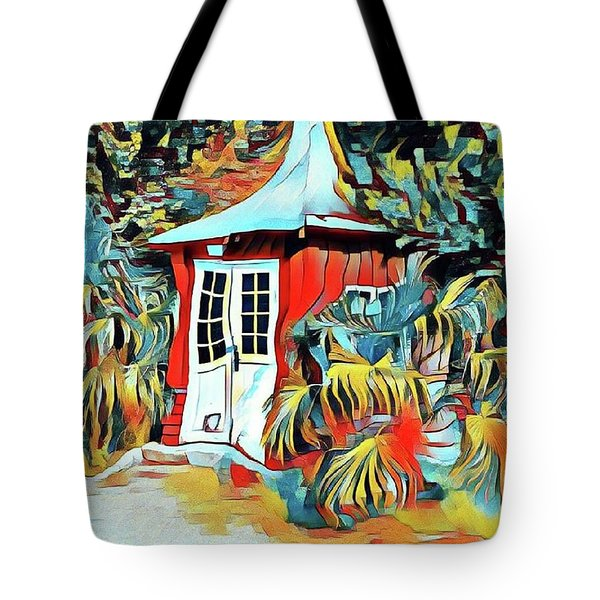 Summerhouse Tote Bag