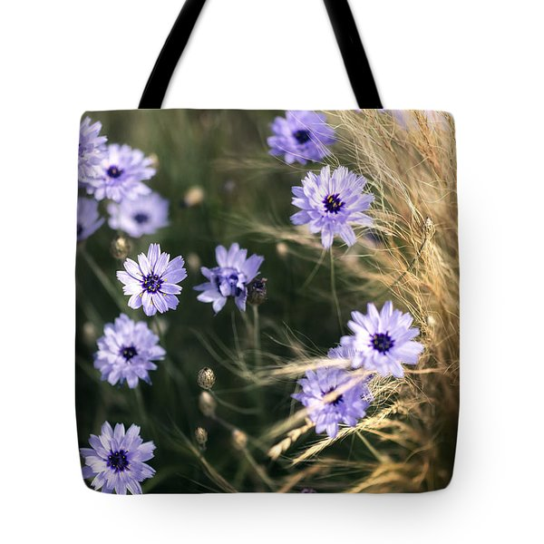 Summer's Blossoms Tote Bag by Ryan Manuel