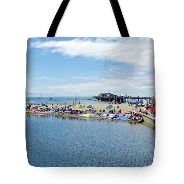Summers End Capitola Beach Tote Bag