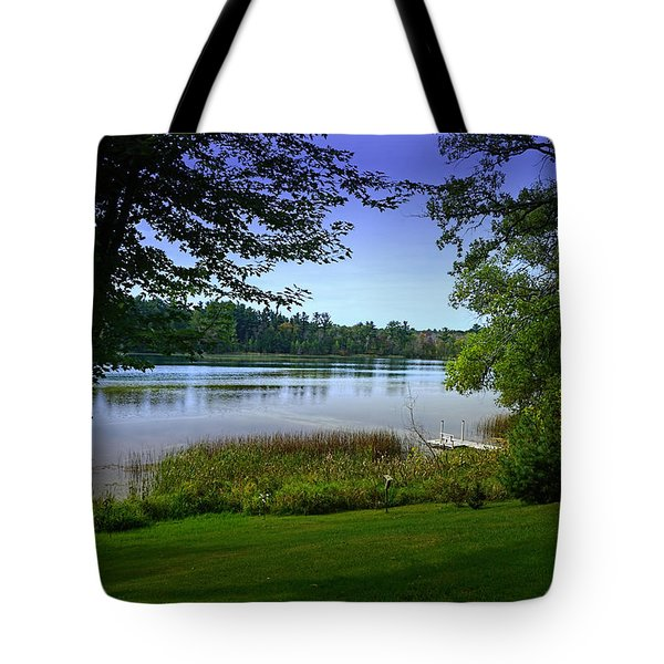 Tote Bag featuring the photograph Summer's End by Judy  Johnson