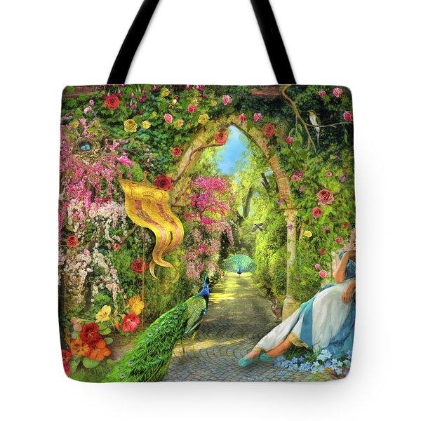 Summers Garden Tote Bag
