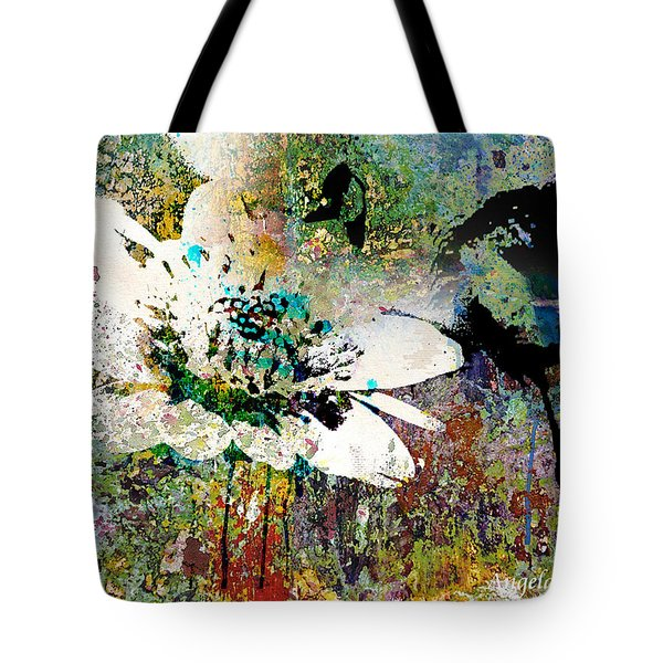 Summers Garden Tote Bag by Angela Holmes