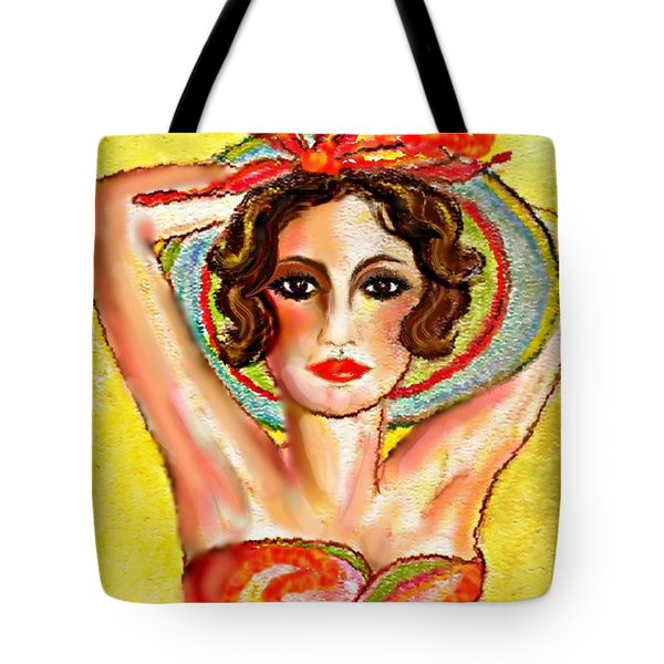 Summer's Glo Tote Bag by Desline Vitto