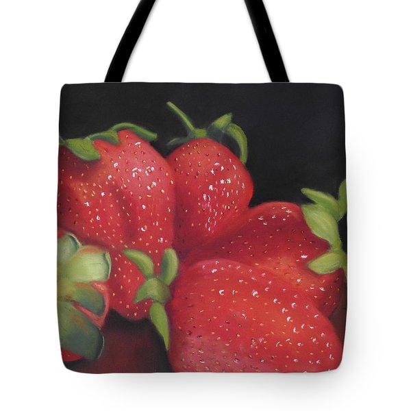 Summer's Red Gems Tote Bag