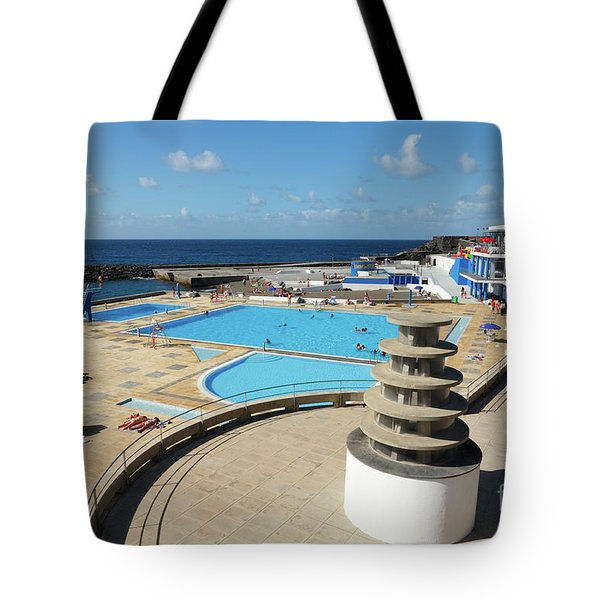 Summertime At Ribeira Grande Tote Bag by Gaspar Avila