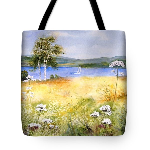 Summertime Birches Tote Bag
