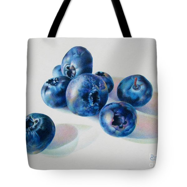 Summertime Blues Tote Bag by Pamela Clements