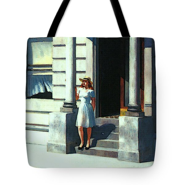 Summertime  Tote Bag by Edward Hopper