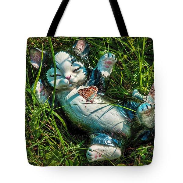Summertime In My Garden Tote Bag