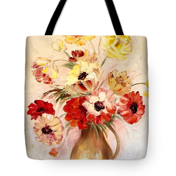 Summertime Joy Tote Bag