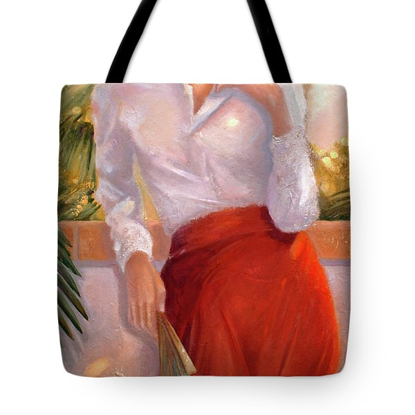 Summertime Tote Bag by Michael Rock