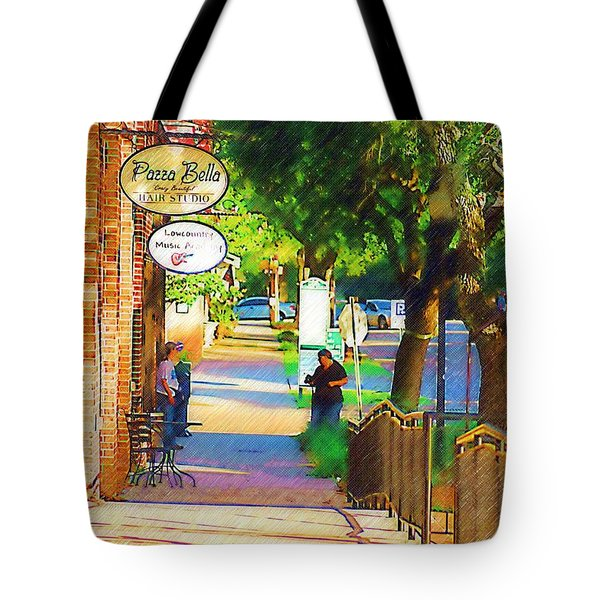 Summerville Sc Tote Bag by Donna Bentley