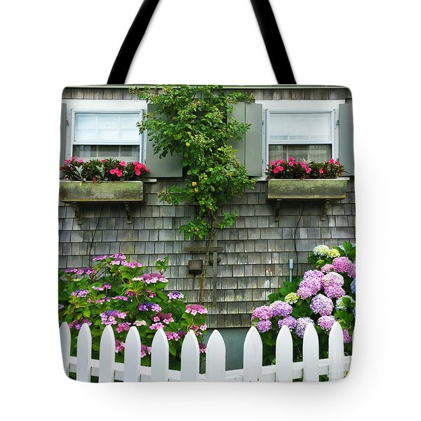 Summery Nantucket Tote Bag