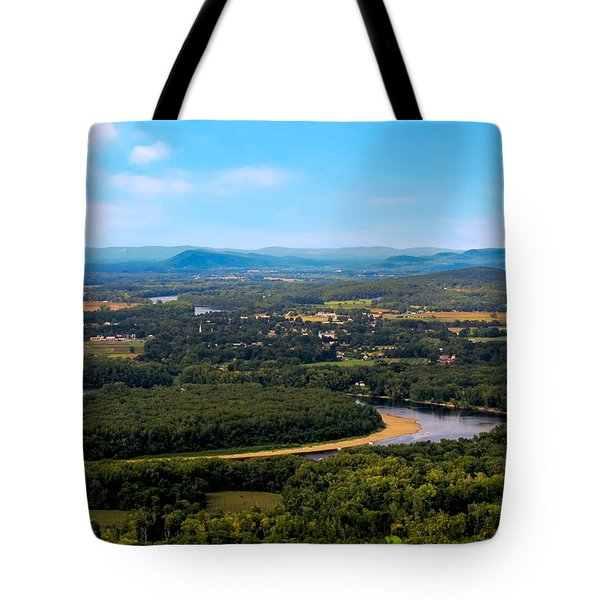 Summit House View Tote Bag